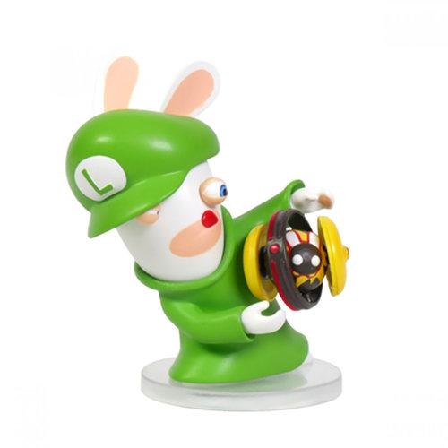 "Ubisoft Mario + Rabbids Kingdom Battle Rabbid Luigi 3"" Figure"