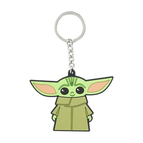 Paladone Star Wars: The Mandalorian - The Child Silicone Keychain