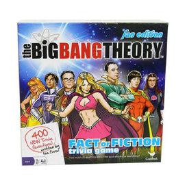 Cardinal Game The Big Bang Theory Board Game Trivia Fact or Fiction Fan Edition (English Version)