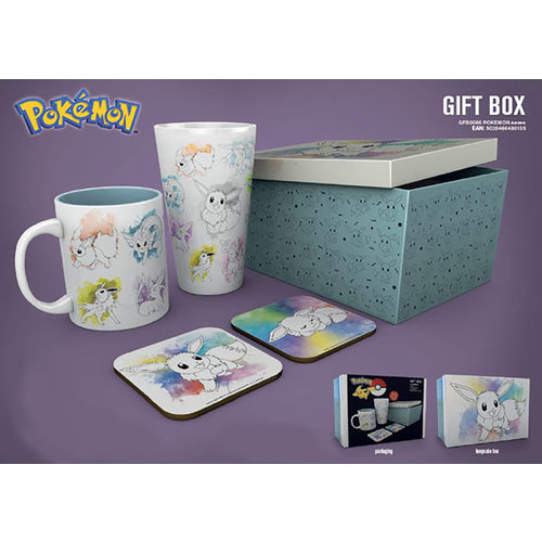 Hole In The Wall Pokemon Eevee Gift Box