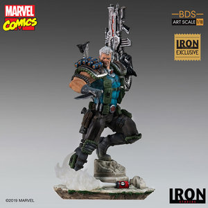 Iron Studios Marvel: Exclusive Cable 1:10 Scale Statue