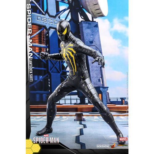 Hot toys Marvel: Spider-Man Game - Spider-Man Anti-Ock Suit 1:6 Scale Figure