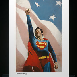 Sideshow Toys DC Comics: Superman - Someone to Believe In Unframed Art Print