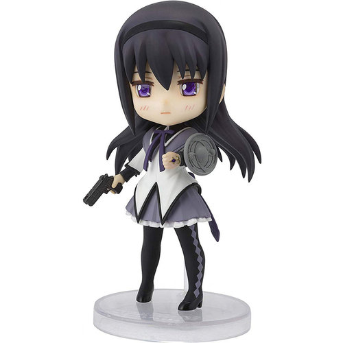 Bandai Tamashii Nations Figuarts Mini Puella Magi Madoka Magica: Akemi Homura - Mini Action Figure