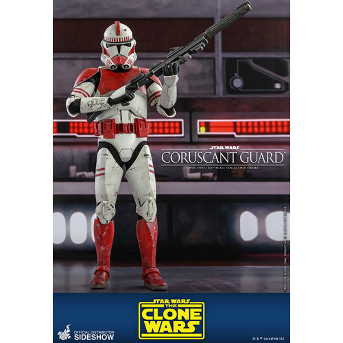 Hot toys Star Wars: The Clone Wars - Coruscant Guard 1:6 Scale Figure