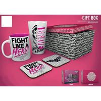 Wonder Woman Fight Like A Hero Gift Box