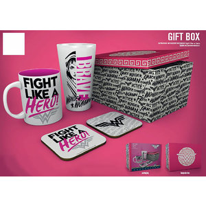 Hole In The Wall Wonder Woman Fight Like A Hero Gift Box