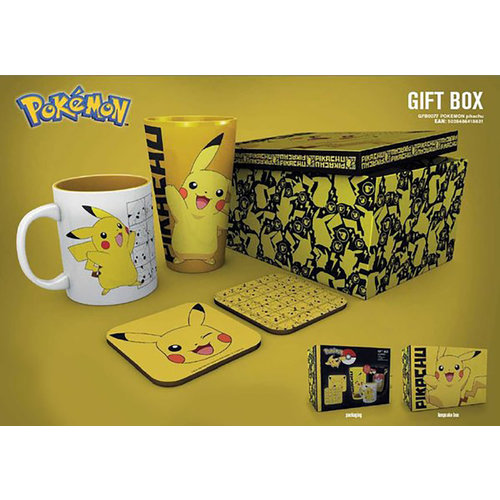 Hole In The Wall Pokemon Pikachu Gift Box