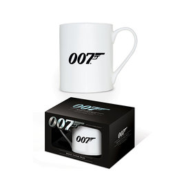 Hole In The Wall James Bond 007 Logo Bone China Mug