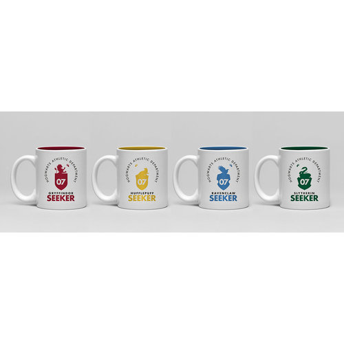 Hole In The Wall Harry Potter Quidditch Mini Mug Set