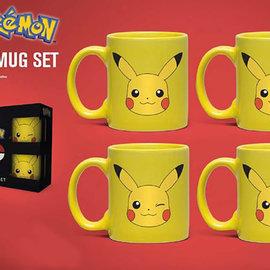 Hole In The Wall Pokemon Pikachu Mini Mug Set