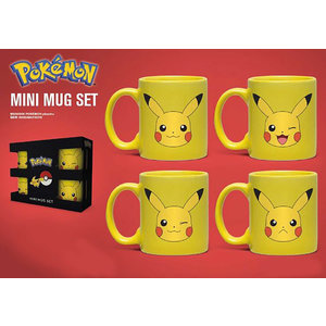 Hole In The Wall Pokemon Pikachu Mini Mug Set