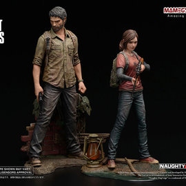 Sideshow Toys The Last of Us: Joel and Ellie 1:9 Scale Statue Set