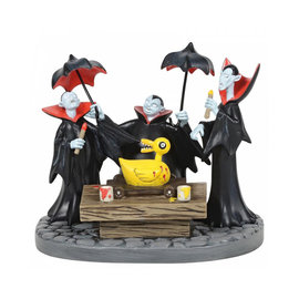 enesco Nightmare Before Christmas: Vampire Brothers Prepare Duck