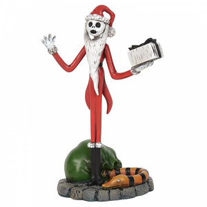 enesco Jack Skellington Steals Christmas Figurine