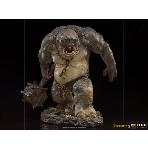 Iron Studios Lord of the Rings: Deluxe Cave Troll 1:10 Scale Statue