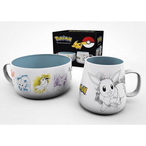 Hole In The Wall Pokemon: Eevee Evolutions Breakfast Set