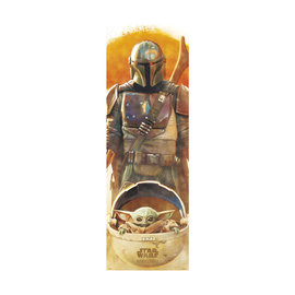 Hole In The Wall Star Wars The Mandalorian Door Poster