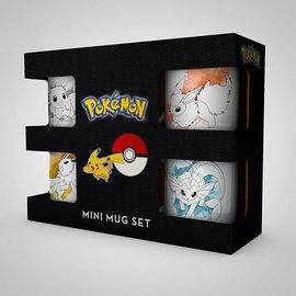 Hole In The Wall Pokemon Eevee Evolutions Mini Mug Set