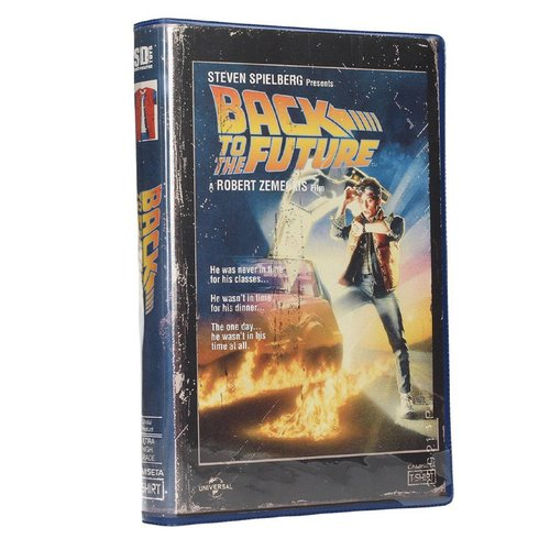 SD Toys Back To The Future - Marty McFly Costume - T-Shirt in VHS Box