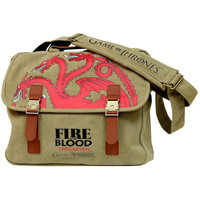 Game Of Thrones - Targaryen Fire And Blood Messenger Bag