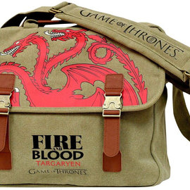 SD Toys Game Of Thrones - Targaryen Fire And Blood Messenger Bag