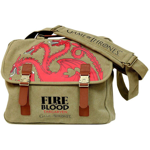 SD Toys Game Of Thrones - Targaryen Fire And Blood Messenger Bag