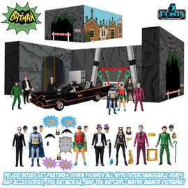 Mezcotoys DC Comics: 5 Points - Batman 1966 Deluxe Action Figure Box Set
