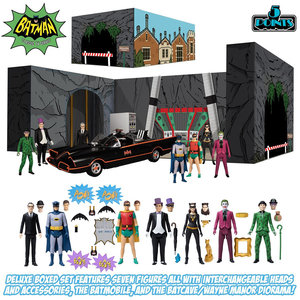 Mezcotoys DC Comics: 5 Points - Batman 1966 Deluxe Action Figure Box Set