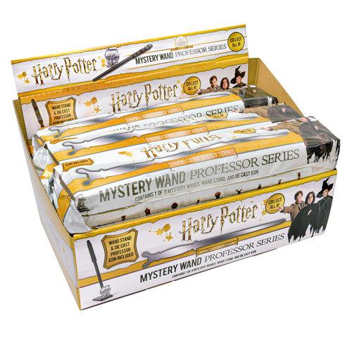 The Noble Collection Harry Potter: Mystery Wand Professor  (Price per Piece)