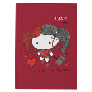 SD Toys DC Harley Quinn I Love My Puddin 2021 diary