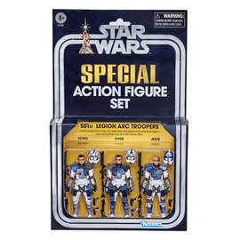 HASBRO Star Wars: The Clone Wars - The Vintage Collection - 501st Legion ARC Troopers Exclusive