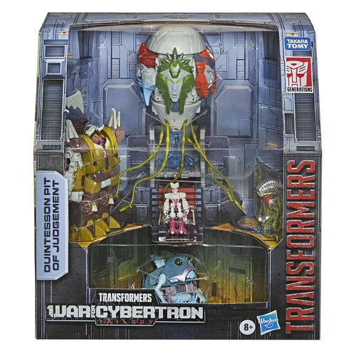 HASBRO Transformers - Generations War for Cybertron Trilogy Action Figure Box Set -  Quintesson Pit of Judgement