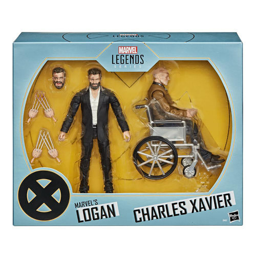 HASBRO Marvel Legends - Logan & Charles Xavier Action Figure 2-Pack