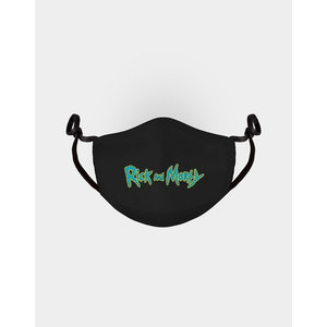 Difuzed Rick and Morty: Logo Adjustable Face Mask