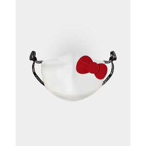 Difuzed Hello Kitty: Bow White Adjustable Face Mask