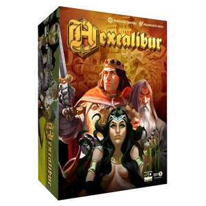 SD Games Hexcalibur board game (English and Spanish )