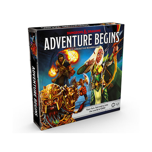 HASBRO Dungeons & Dragons: The Adventure Begins