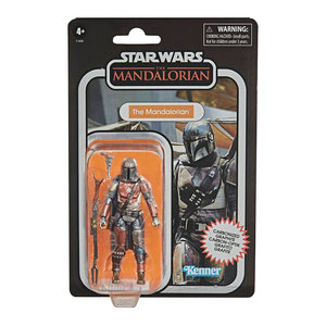 HASBRO Star Wars Vintage Collection - The Mandalorian Carbonized Figure 2020