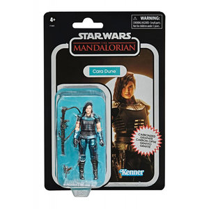 HASBRO Star Wars Vintage Collection - The Mandalorian - Cara Dune Carbonized Figure 2020