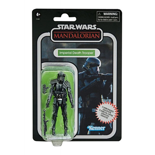 HASBRO Star Wars Vintage Collection - The MandalorianVintage Collection - Imperial Death Trooper Carbonized Action Figure 2020