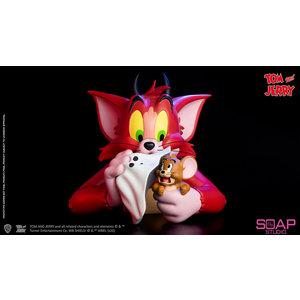 soap studios Tom and Jerry: Devil Vinyl Bust