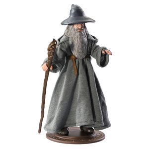 The Noble Collection Lord of the Rings: Gandalf Bendyfig