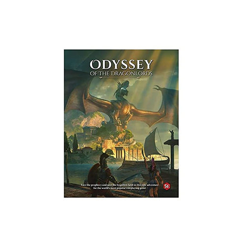 Modiphius Odyssey of the Dragonlords