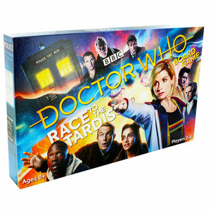 BBC Doctor Who Race to the Tardis Board Game