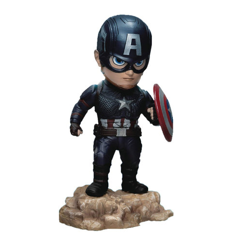 Beast Kingdom Marvel: Avengers Endgame - Captain America Mini Egg Attack PVC Statue