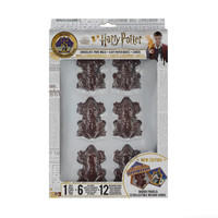 Harry Potter: Chocolate Frog Mold with 6 DIY Boxes and 12 Wizard Cards