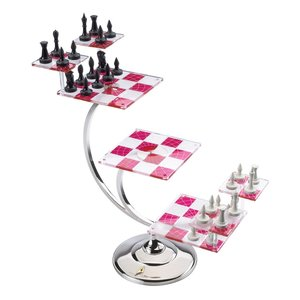 The Noble Collection Star Trek Tri-Dimensional Chess Set