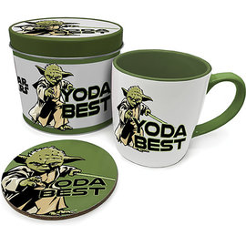Hole In The Wall Star Wars Yoda Best Metal Tin Giftset