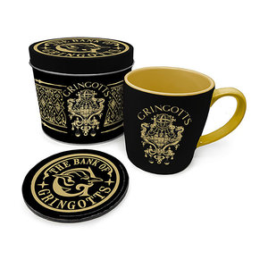 Hole In The Wall Harry Potter Gringotts Metal Tin Giftset